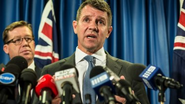 NSW Premier Mike Baird's decision has been pilloried online, even before he formally announced it.