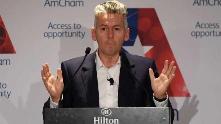 Coles managing director John Durkan accused multinational food companies of overcharging