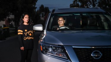 Epping couple Sunil and Nishtha Goel are paying for Melbourne's traffic problems.