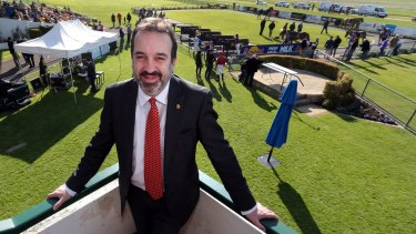 The club says it has been in constant communication with Racing Minister Martin Pakula.