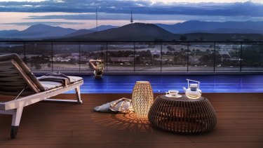 A 20-metre rooftop pool will be the standout feature in the latest development in Gungahlin.