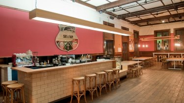 JCR cafe at Ormond College was designed with people's behaviour in mind.