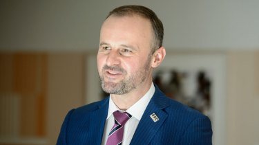 Chief Minister Andrew Barr has championed the citizens' jury.