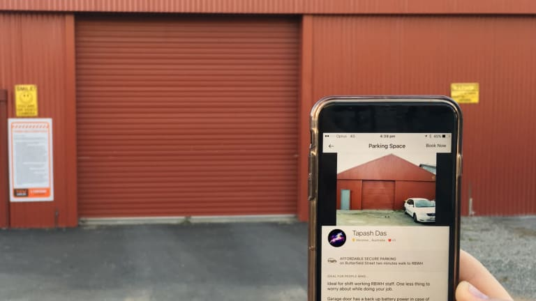 Kerb allows anyone with a smartphone to lease out free space as parking.