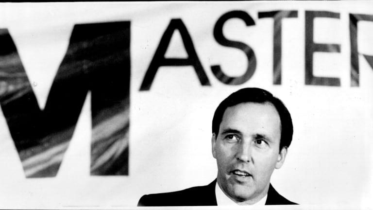 Then treasurer, Paul Keating, attending a Master Builders Federation of Australia seminar in 1987.
