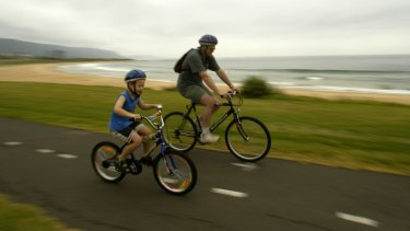 Children can ride on the footpath up until they turn 12.