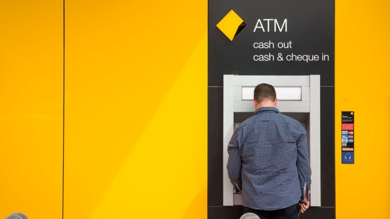 The number of ATM withdrawals in January was down by 7.7 per cent on last year.