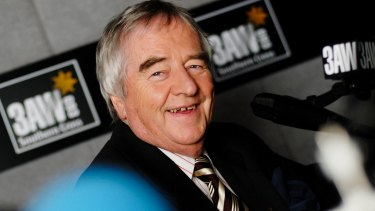 Former 3AW presenter Ernie Sigley (pictured in 2006) has been diagnosed with Alzheimer's disease.