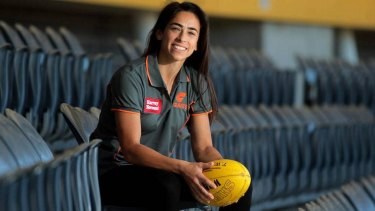 GWS Giants midfielder Amanda Farrugia will captain the team in the AFL.
