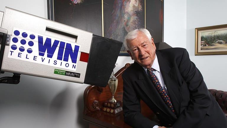 WIN owner and Nine shareholder Bruce Gordon
