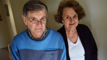 """Bernard and Robin are campaigning against a plan to """"privatise"""" government-run group homes."""
