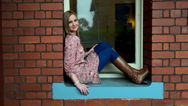 Kristy McKellar suffered violence at the hands of her abusive husband and is now a  family violence advocate.