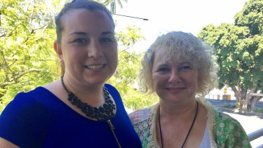 Joanna and Liza Horn; wife and mother of Brisbane's boxing welterweight hopeful Jeff Horn.