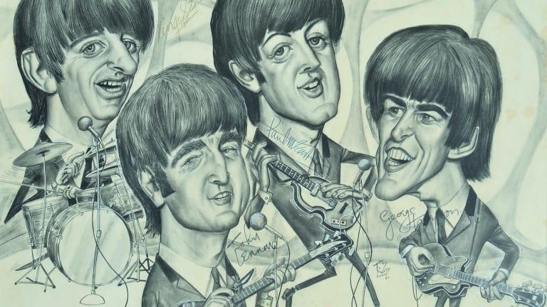 The Beatles, by Tony Rafty.