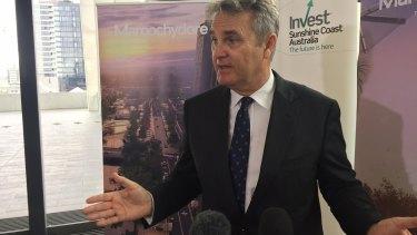 """There is something happening on the Sunshine Coast,"" demographer Bernard Salt says."