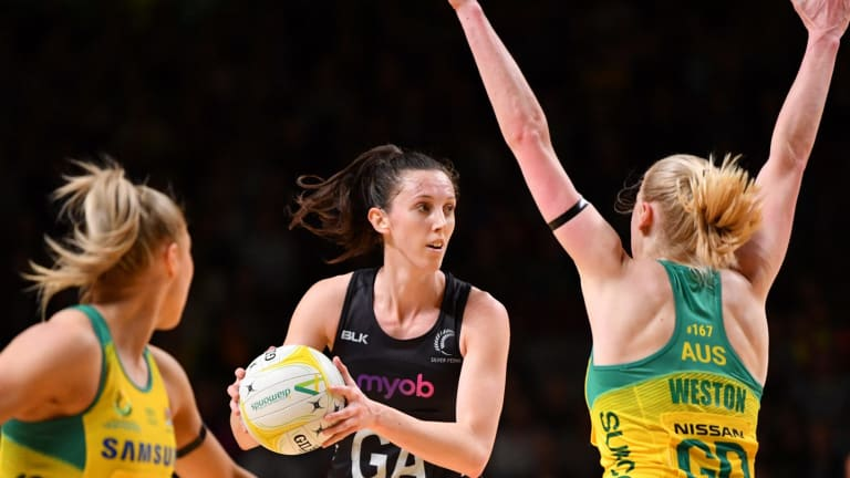 No way through: Australia notched up their sixth successive win over New Zealand.