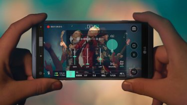 As this image suggests, the combination of the V20's camera, second screen and Hi-Fi credentials would make it ideal for recording a rock show, if that's something you do a lot with your phone.