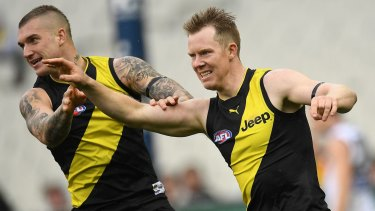 Jack Riewoldt (right): Missing this week.