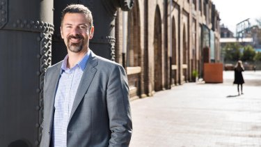 Adrian Turner, chief executive of Data61, CSIRO's data technology unit.