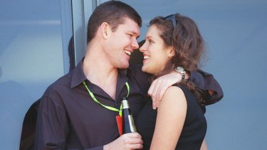In the past: James Packer and Kate Fischer.