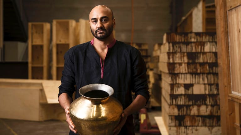 S.Shakthidharan will debut his play Counting and Cracking as part of the Sydney Festival.