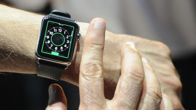Using an Apple Watch while driving is not recommended.