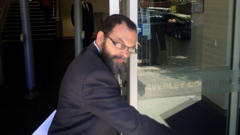 Daniel Robert Hayman leaving court in 2014.