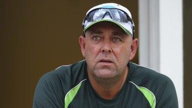 Hopeful: Coach Darren Lehmann believes the Sri Lanka tour can be the start of an Australian surge.