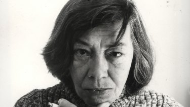 Author Patricia Highsmith who was born in 1921.