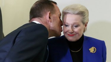 Tony Abbott's 2013 decision to install Bronwyn Bishop as Speaker was seen as an early captain's call.