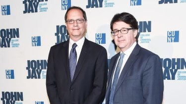 Jerry Buting and Dean Strang attend the 2016 John Jay Medal For Justice Award.