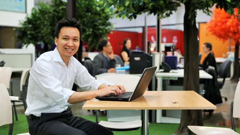 Taylor Tran, consultant and author of Innovation Melbourne a guide to shared offices.
