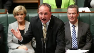 Minister for Agriculture Barnaby Joyce has refused to make apologies for the introduction of the security measures.
