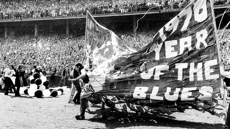 1970 Grand Final - Collingwood versus Carlton - a great rivalry.