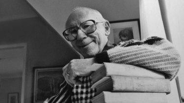 The Godfather of Australian children's literature: Maurice Saxby.