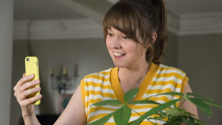 Australian comedian Claudia O'Doherty in <i>Love</i>, her upcoming series on Netflix.