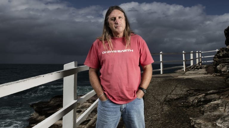 Inspired: Tim Winton is pleased the film is being shot in the Western Australian locations of his novel.