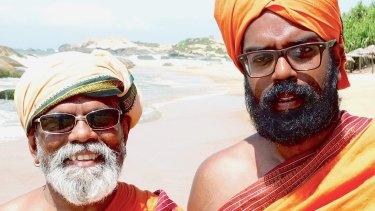 UK comedian Romesh Ranganathan (right) in  i Asian Provocateur  i e75afb7e5