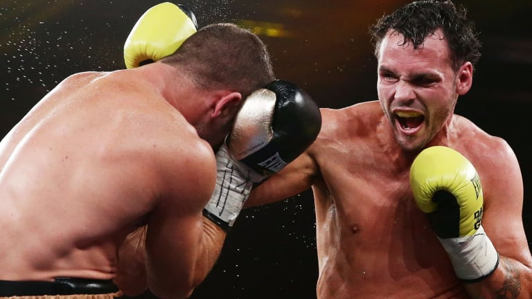Fighting against recent history: Daniel Geale.