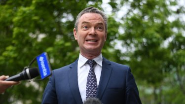 Leader of the House Christopher Pyne.