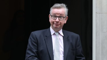 Environment secretary Michael Gove, says it is Iran that should be in the dock, not his colleague Boris Johnson.