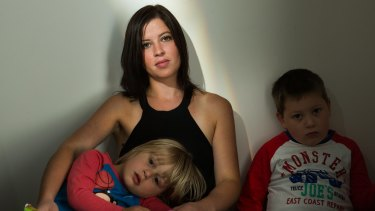 Isabel Klanja and her two sons are in desperate need.