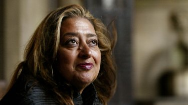 The late Iraqi-British architect Zaha Hadid was one of the few women to have received the most prestigious architecture prize, the Pritzker.