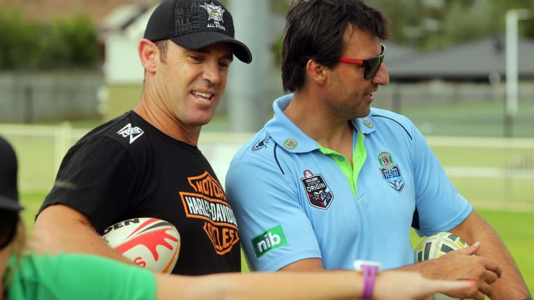 Logical choice: Brad Fittler is considered the obvious option to take over from Laurie Daley as the next coach of New South Wales.