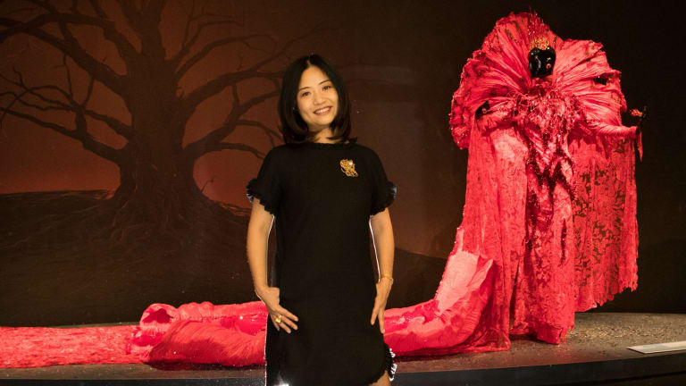 Fashion designer Guo Pei.