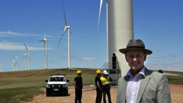 South Australia derives more than 40 per cent of its power from wind and solar energy and Premier Jay Weatherill introduced the battery tender as part of a $550 milion response to a summer of blackouts
