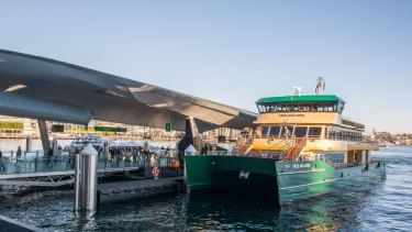 Sydney's ferries will be the test for cashless payments for trips across other public transport networks.