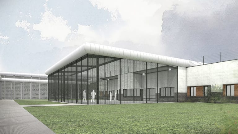 An artist's impression of the new youth justice centre