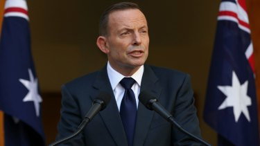 Tony Abbott delivers his final statement as Australia's Prime Minister.