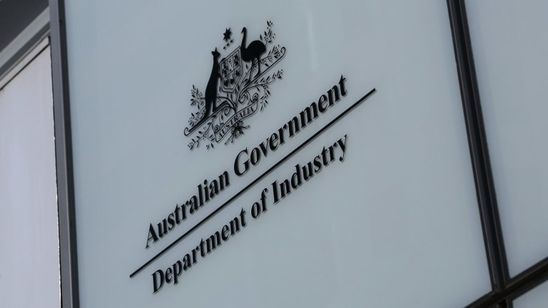 Simpler times: The Department of Industry has had yet another name change.